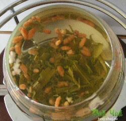 Сухой чайный напиток каштан цвет