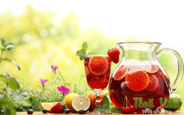 Чай фруктовый своими руками